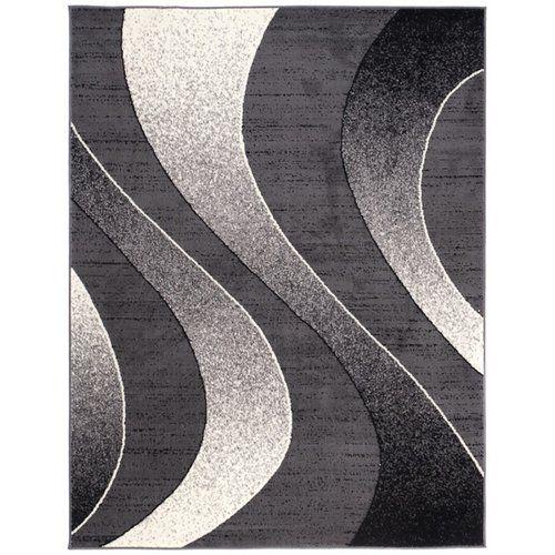 Teppich Taurean in Dunkelgrau 17 Stories Teppichgröße: Rechteck 130 x 190 cm