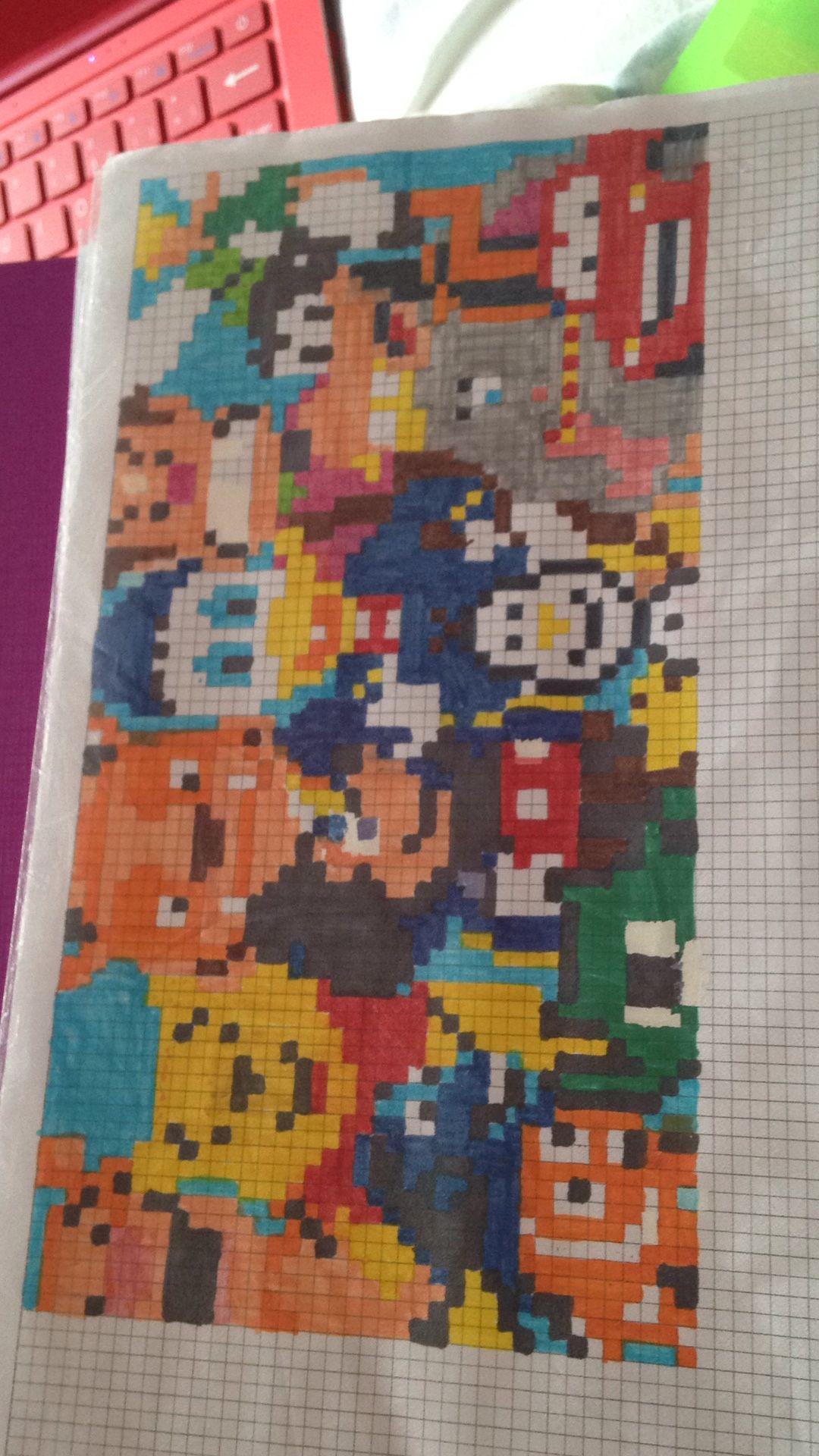 Epingle Par Justin Kanki Sur Mes Pixels Arts Dessin Petit Carreau Dessin Carreau Dessin Sur Petit Carreaux