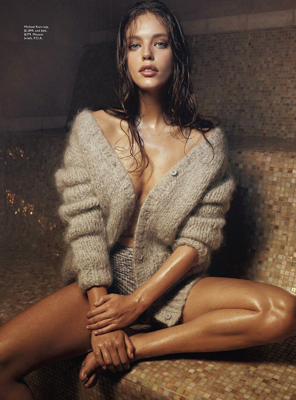 let it snow: emily didonato by benny horne for vogue australia june 2014   visual optimism; fashion editorials, shows, campaigns & more!