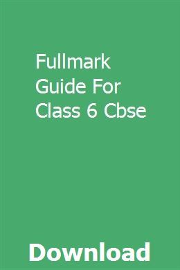 Cbse class 6 computer book pdf