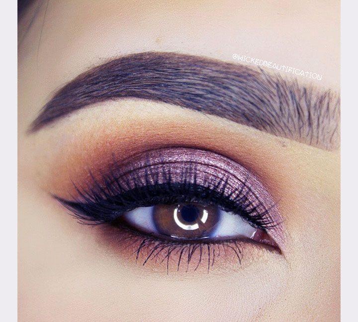 Gorgeous Purple Smokey Eye We This Moncheribridals Make