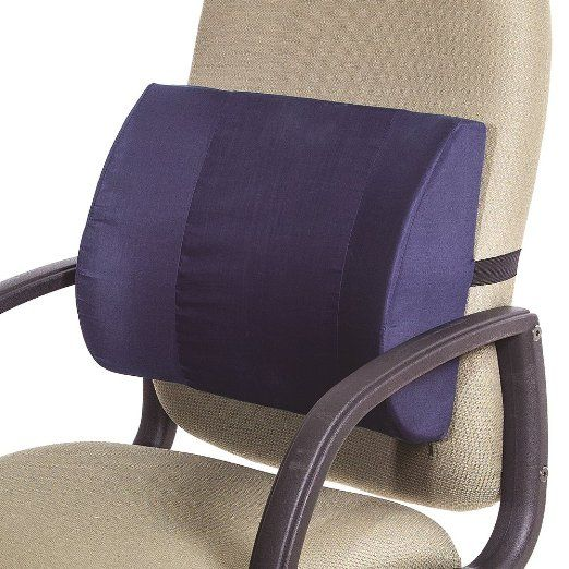 Amazon Com Extra Wide Chair Lumbar Back Support Cushion For Travel Home Or Office Sports Ou Office Chair Office Chair Lumbar Support Office Chair Cushion