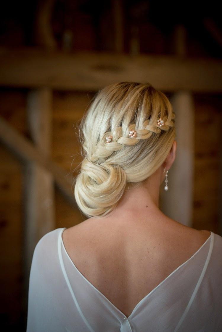 Tendencias peinados de novia 2015   Preparar tu boda es facilisimo.com