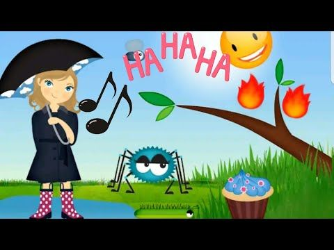 Ipsy dipsy spider rhymes and songs for KIDS YouTube The