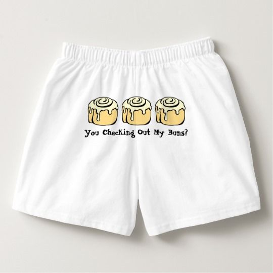 You Checking Out My Buns? Funny Sarcastic Butt Pun Boxers | Zazzle.com You Checking Out My Buns? Funny Sarcastic Butt Pun Boxers | Zazzle.com Under Wear underwear puns