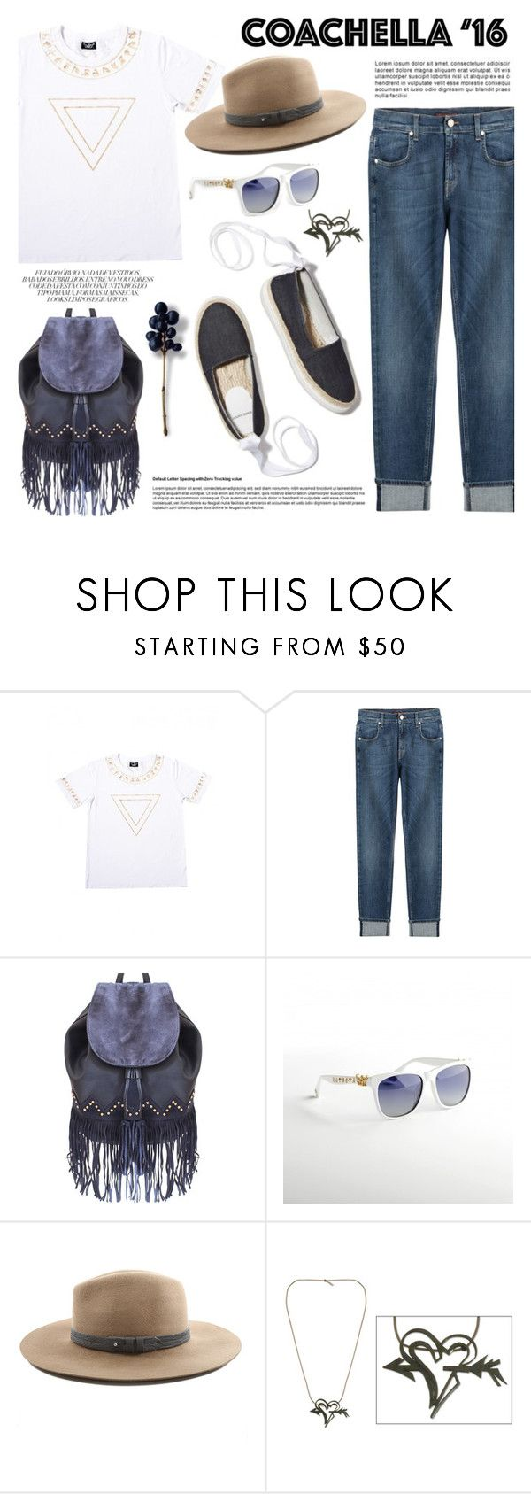 """""""Pack for Coachella!"""" by wigicollection ❤ liked on Polyvore featuring 7 For All Mankind, Liquorish, Pierre Hardy, rag & bone, NOVICA, contestentry, wigicollection, wigier and packforcoachella"""