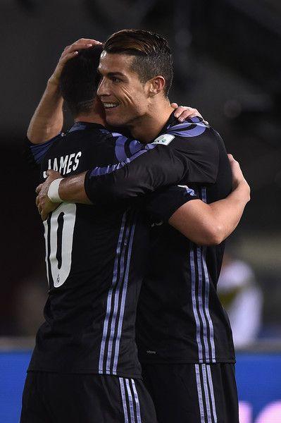 James Rodriguez Photos Photos Club America V Real Madrid Fifa Club World Cup Semi Final Club World Cup Cristiano Ronaldo James Rodriguez