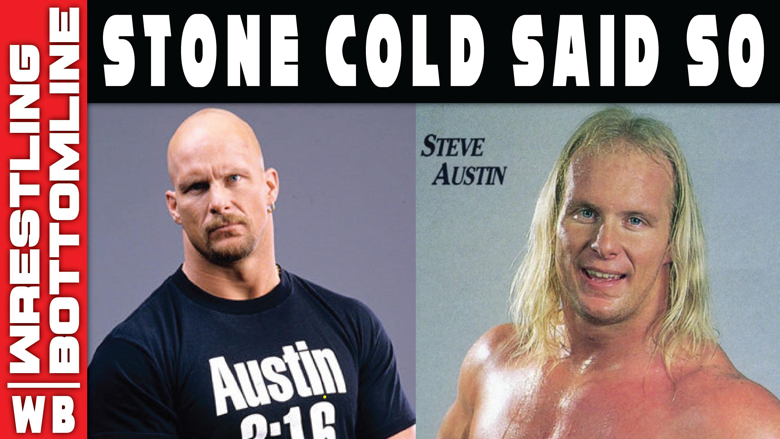 Stone Cold Said So Stone Cold Steve Austin On Adjusting To Going Bald Balding Going Bald Bald Hair