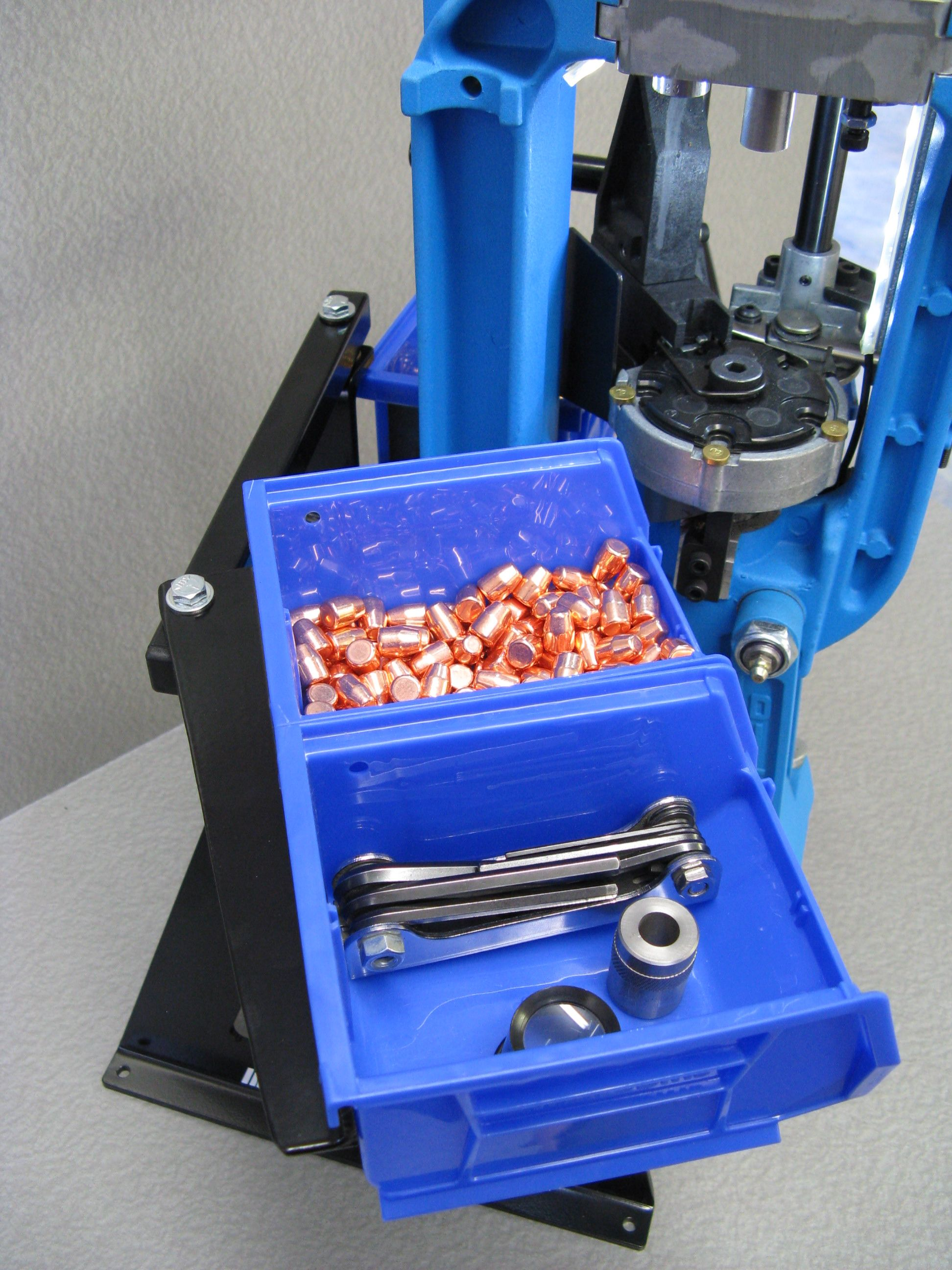 Double bullet tray assembly for Dillon XL 650 and RL 550 B & C