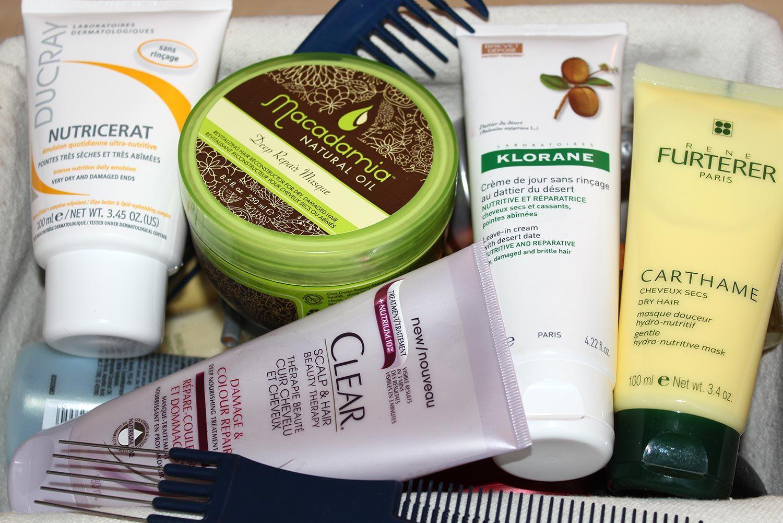 Mon Top 5 des soins pour les cheveux secs/cassants