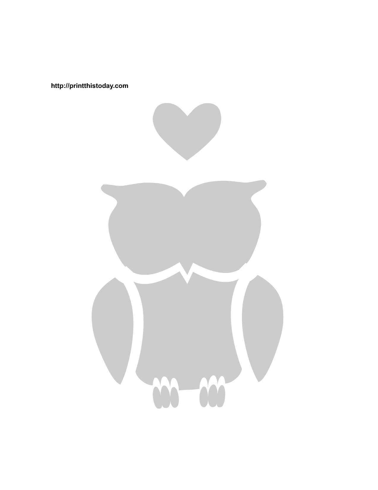 printable stencils free printable love birds stencils print