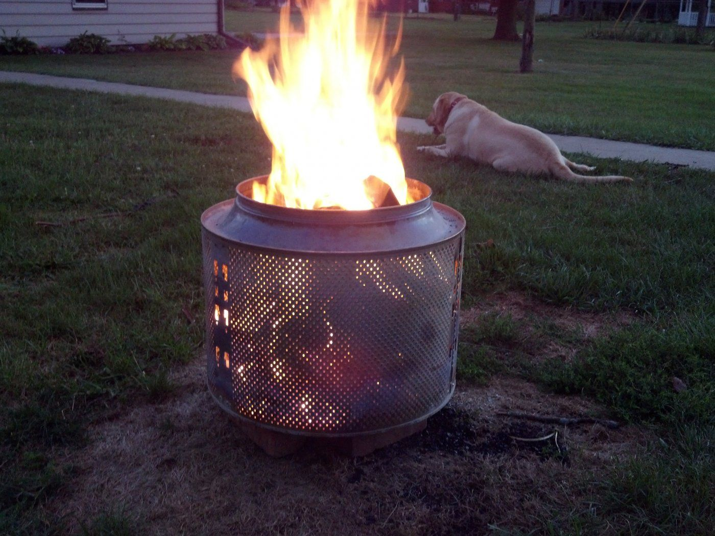 Washing machine turned fire pit Forums Home