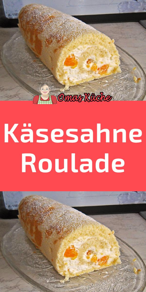 Käsesahne Roulade