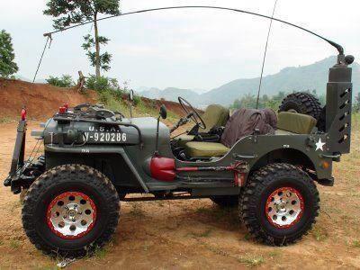 Eramobila Reinkarnasi Modifikasi Mobil Jeep Ex Perang Dunia Ii