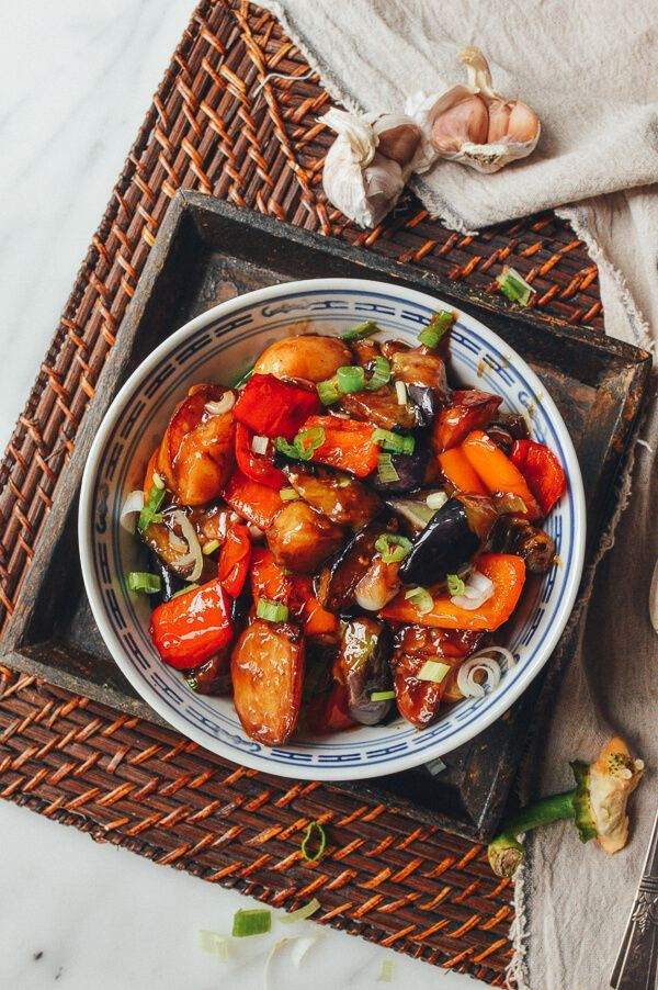 Stir fried eggplant potatoes peppers di san xian recipe stir fried eggplant potatoes peppers di san xian recipe recipes asian and asian food recipes forumfinder Image collections