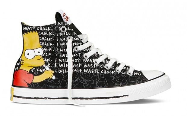 625cd270a5780c Simpsons x Converse CT All Star