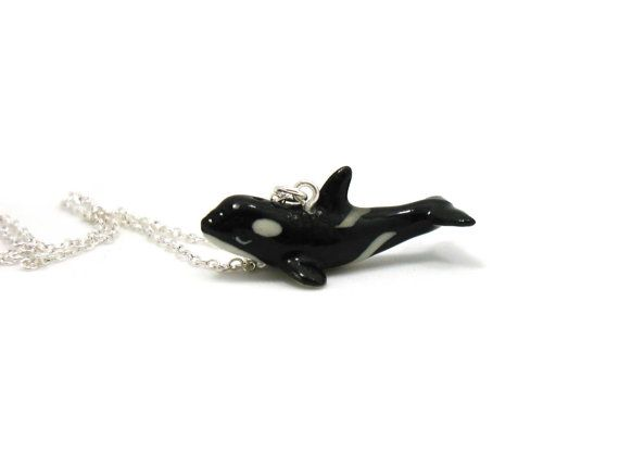 Killer whale necklace charm necklace charm jewelry killer whale killer whale necklace charm necklace charm jewelry killer whale pendant whale jewelry aloadofball Choice Image