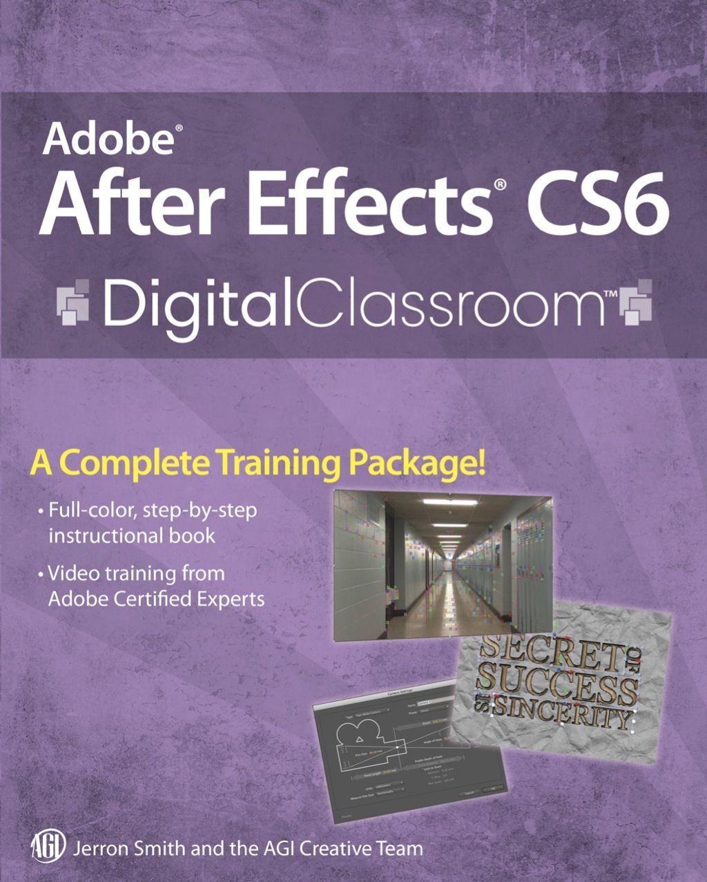 Adobe After Effects Cs6 Digital Classroom Ebook Adobe After