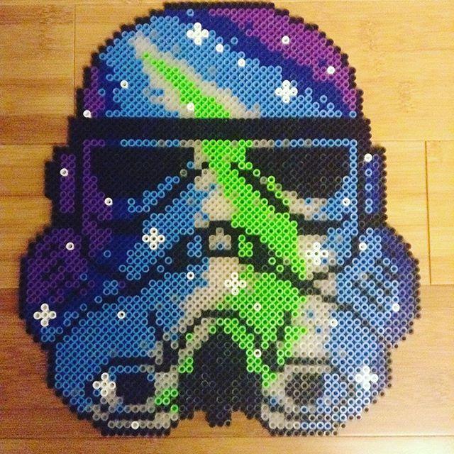 Perler Bead Artkal Bead Fuse Bead Sprite Pixel Art Galaxy