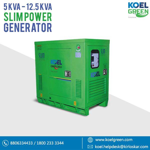 Pin by KOEL iGREEN on Silent Diesel Generator set – KOEL Green by