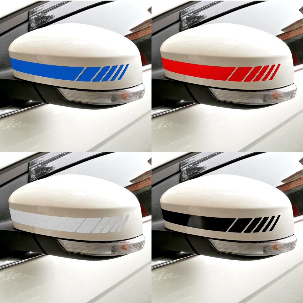 Kaufen Reflektierende Auto Aufkleber Und Abziehbilder Auto Ruckspiegel Dekoration Exterior Zubehor Diy Car Accessories Diy Rear View Mirror Decor Car Stickers