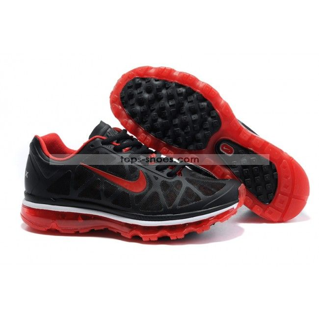 Air Max 2011 Netty Womens Breathable-Running Shoes Red Black White Popular  New Arrival