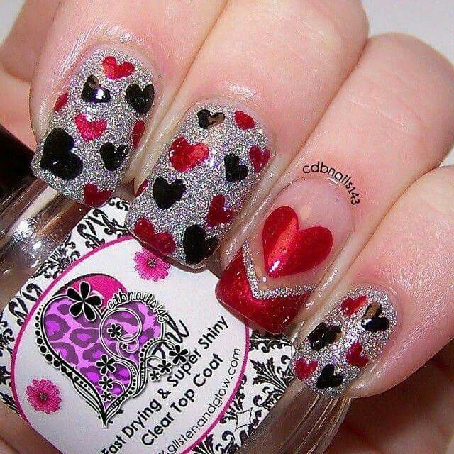 The Perfect Nails For Valentines Day Nail Bar Pinterest