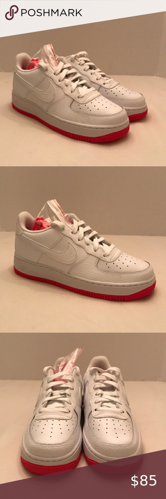 Nike Air Force 1 Low GS 'White Racer