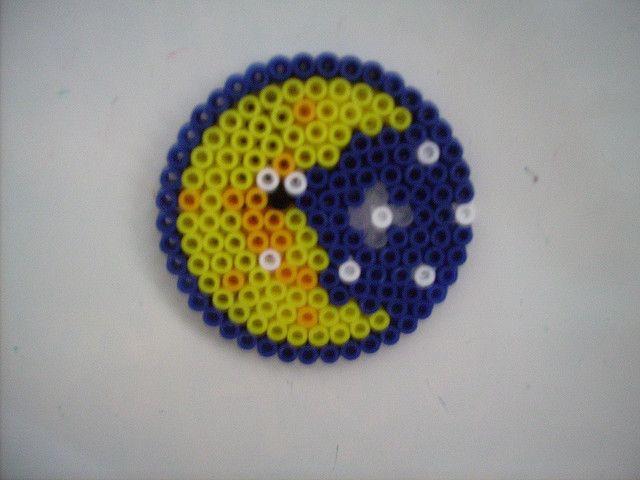 The Night S Sky Perler Bead Art Hama Beads Design Diy Perler Beads