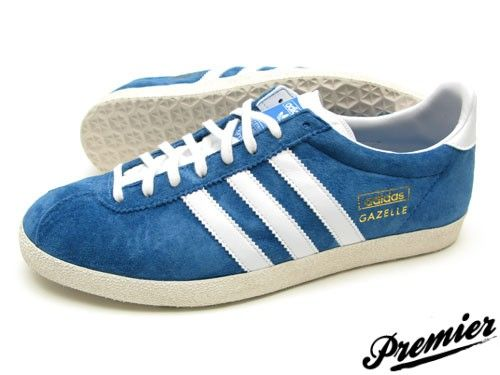 Adidas Gazelle Originals. Inspired in the 1968 all-around training shoe!