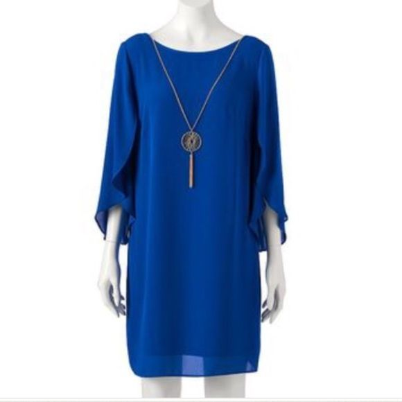 Office Wear Dress Blue Office Wear Dress Blue Ab Studio Dresses