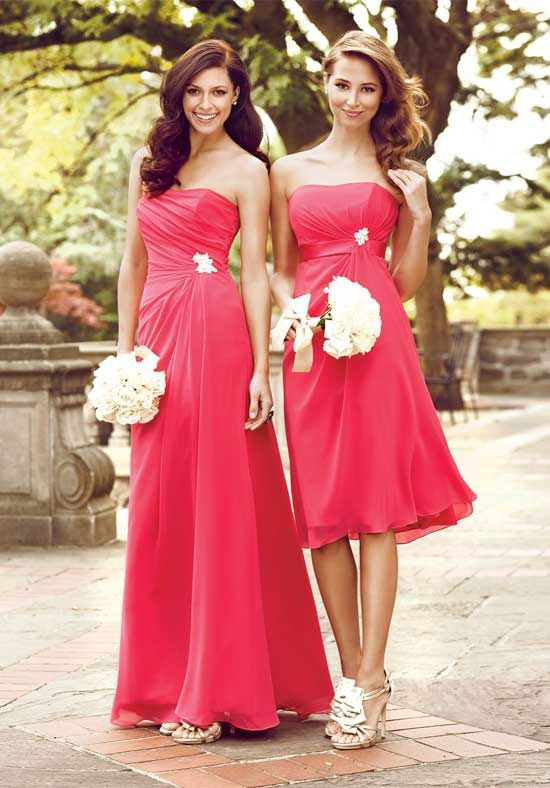 Impression Bridesmaid Dresses Style 1744 On The Right