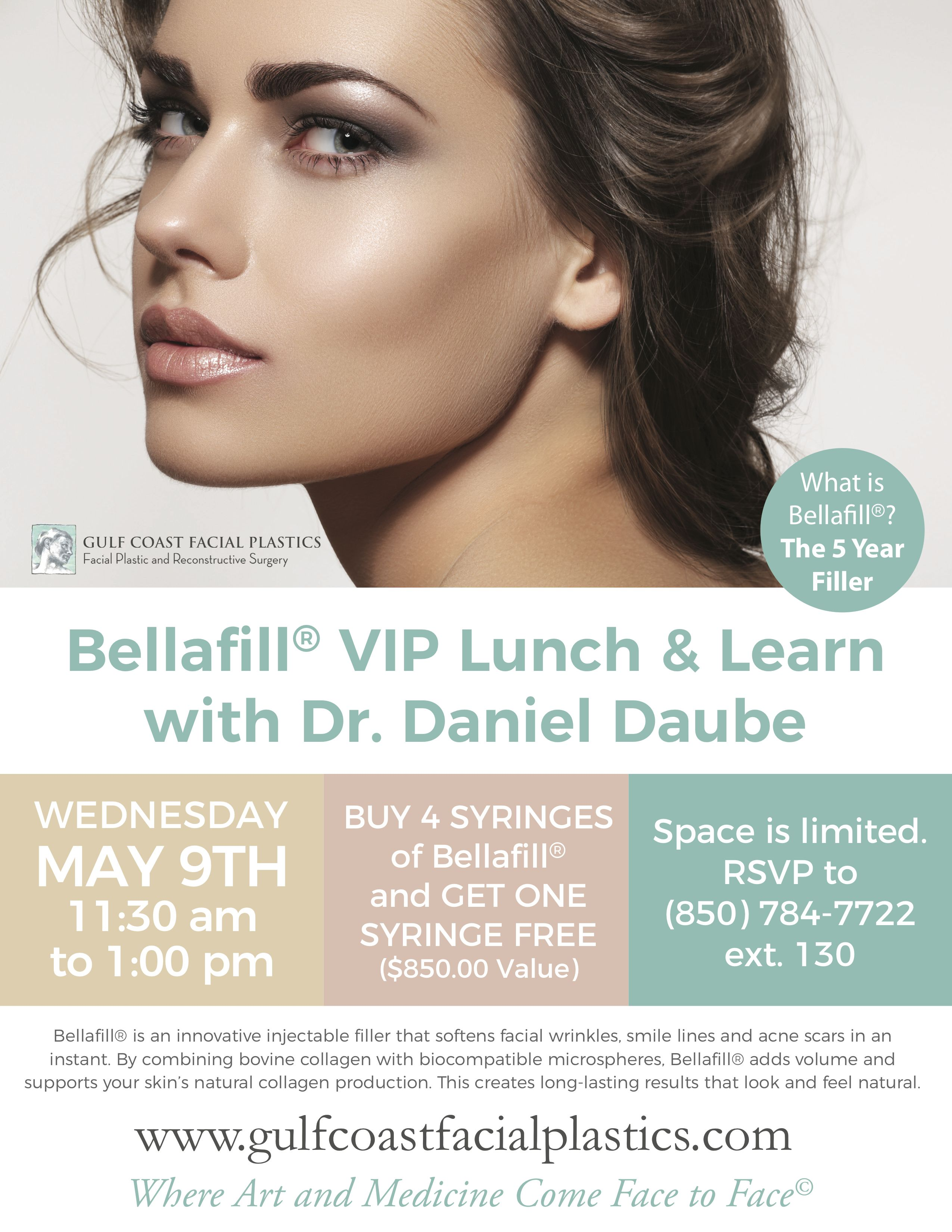 Do You Want Natural Looking Results That Last Then Bellafill Is The Filler For You Join Us On Wednesday May 9th For Facial Plastic Facial Cosmetic Surgeon