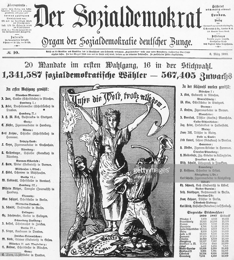 Schreiner Dresden germany socialist movement 1918 antisocialistlaw 18781890 newspaper