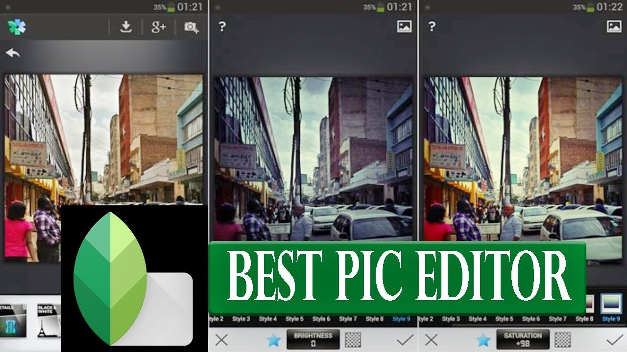 Professional Photo Editing App For Best Effects | Snapseed