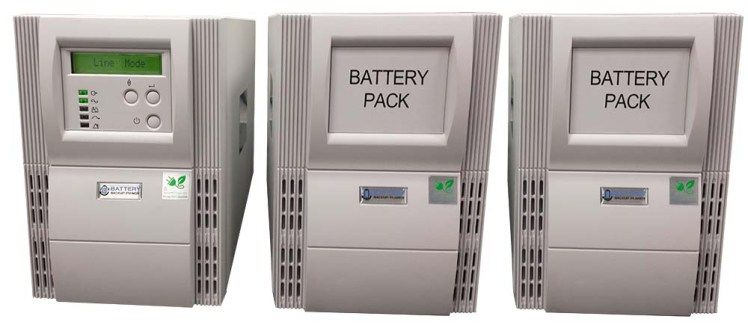 8 Hour And 24 Hour Battery Backup Kit For Home Modems Routers And Voip Devices Released Battery Backup Locker Storage Voip