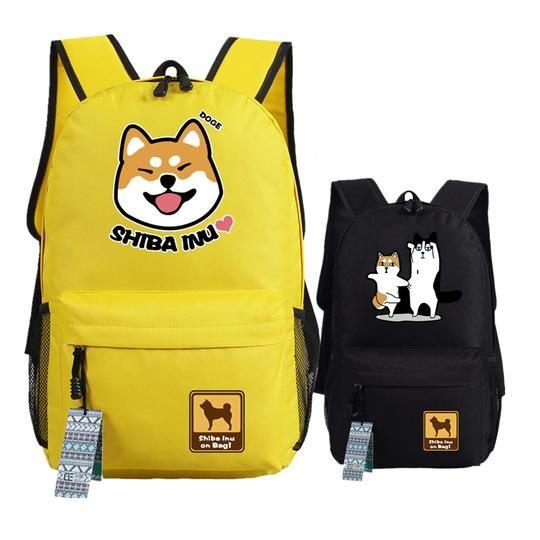 Shiba Inu Kawaii Dog Emoji Printing Women Backpack - Travel Buddy Outlet -  Best Deals on Backpacks - backpack 6b367d7204f92