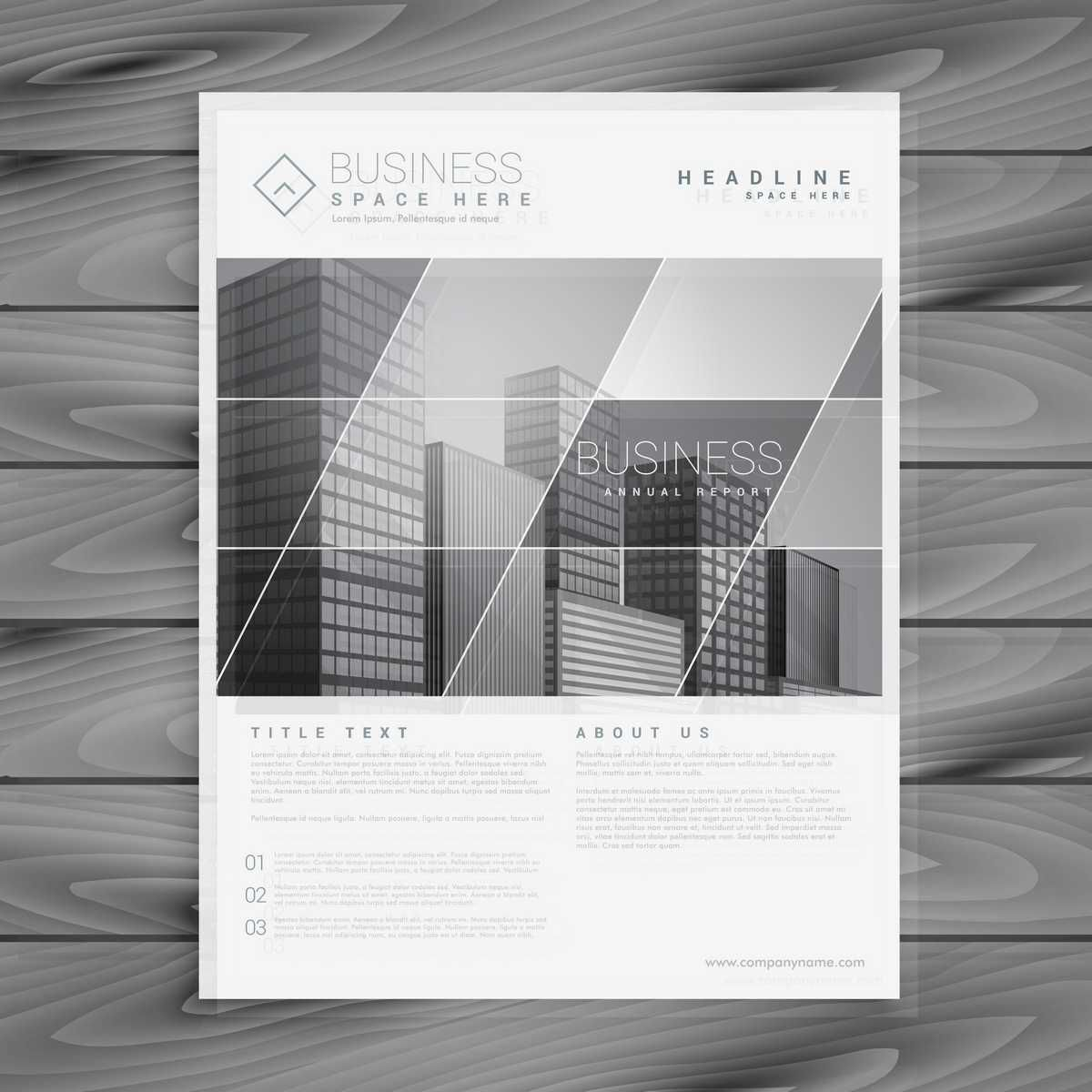 Company Brochure In A Stylish Design - FREE | Brochures | Pinterest ...