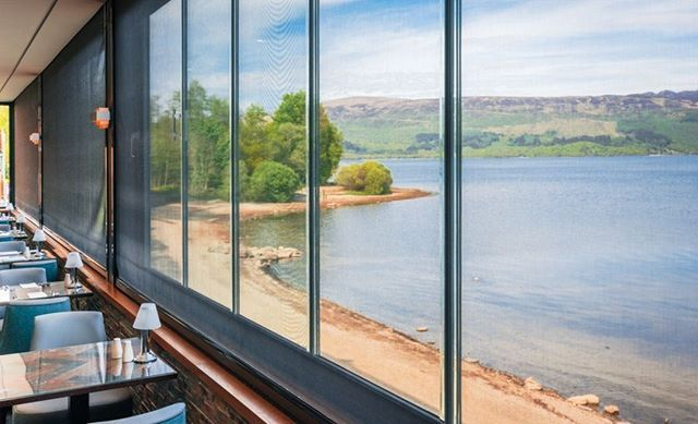 It's Wednesday morning which means its time for another image from our amazing Loch Lomond series. Have any of you ever stayed on the Lodge on Loch Lomond? Do you remember this spectacular view from the restaurant?  We recently published a new case study detailing a Phantom Screens installation that we carried out on the banks of Loch Lomond in Scotland. The panoramic view was a pleasure to work with and the series of Phantom Screens we installed ensures that the owners can now open the windows  #lochlomond