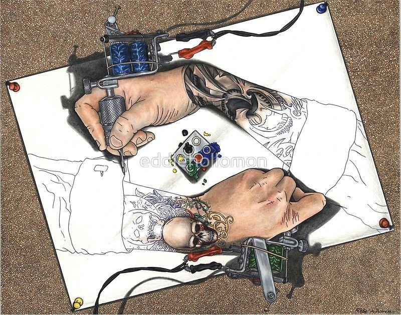Надписями, прикольные картинки про тату мастера