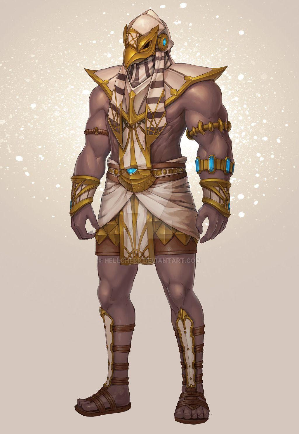Egypt Empire Concept Art