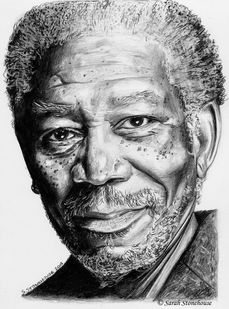 Im Morgan Freeman By Sarah789 D I B U J O S In 2018 Pinterest Apel