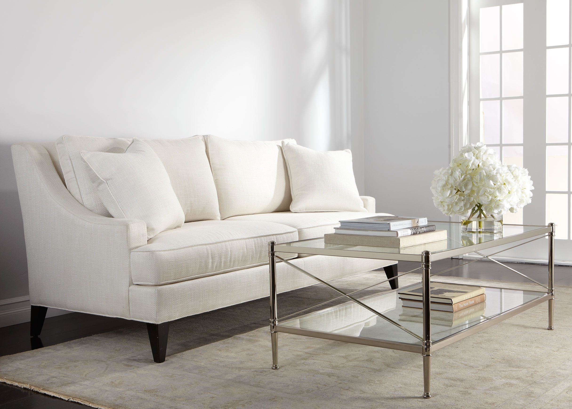 Perfect Living Room   Jocelyn Coffee Table   Ethan Allen With Emerson Sofa