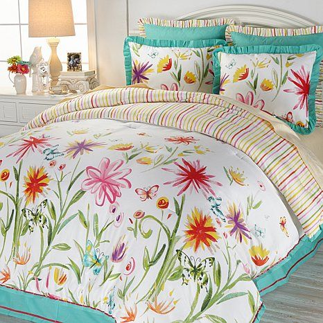 Merveilleux Whimsy And Magic Come To Life In This Madcap Cottage Butterfly Garden  Comforter Set. From The Collection Exclusively At HSN And Inspired By  Disneyu0027s New ...