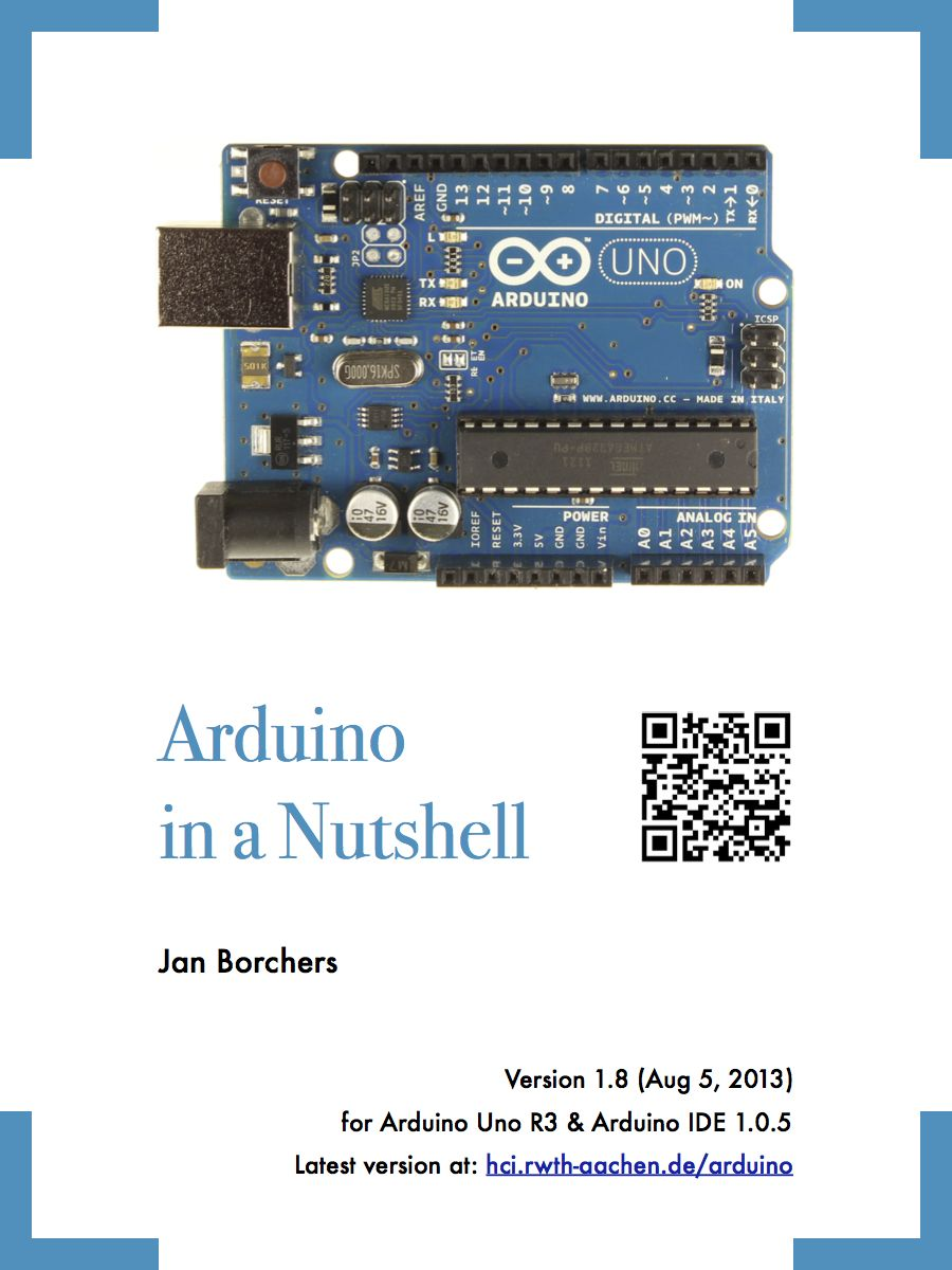 An Arduino Primer In A Nutshell Ebook Cool Projects Electronics And Microcontrollers
