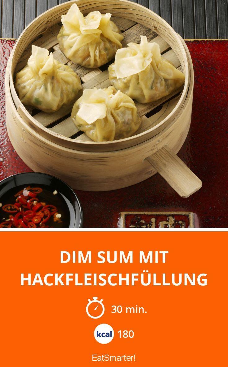 Dim Sum mit Hackfleischfüllung #chinesemeals