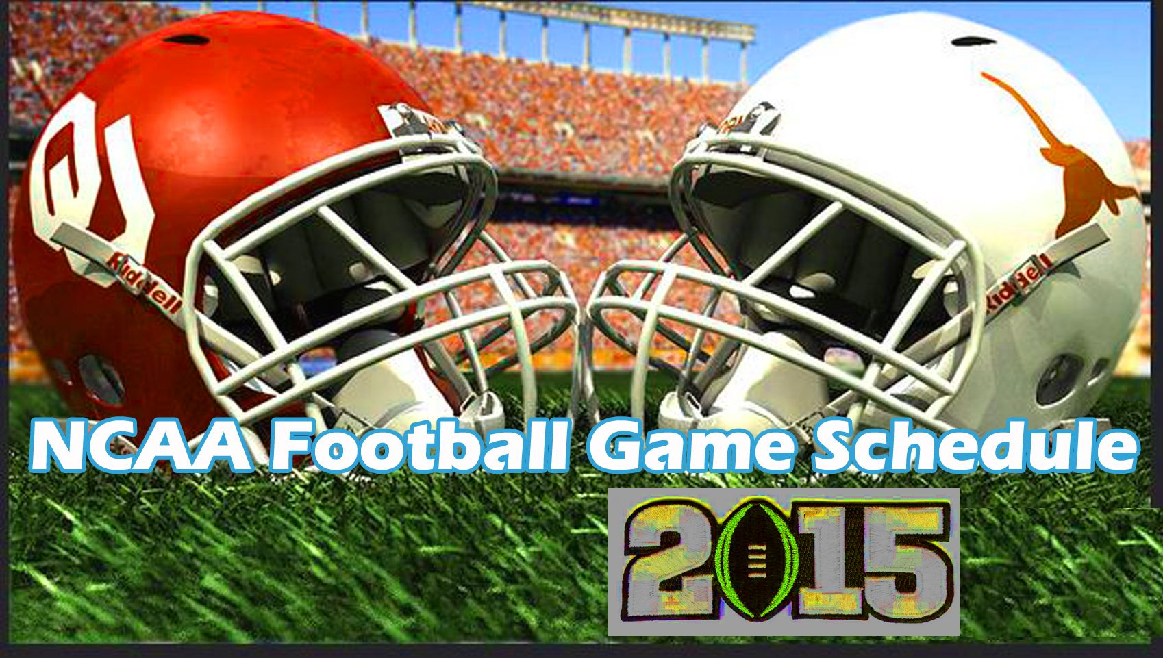 Ncaa football schedule 2015 seasons Ncaa football game