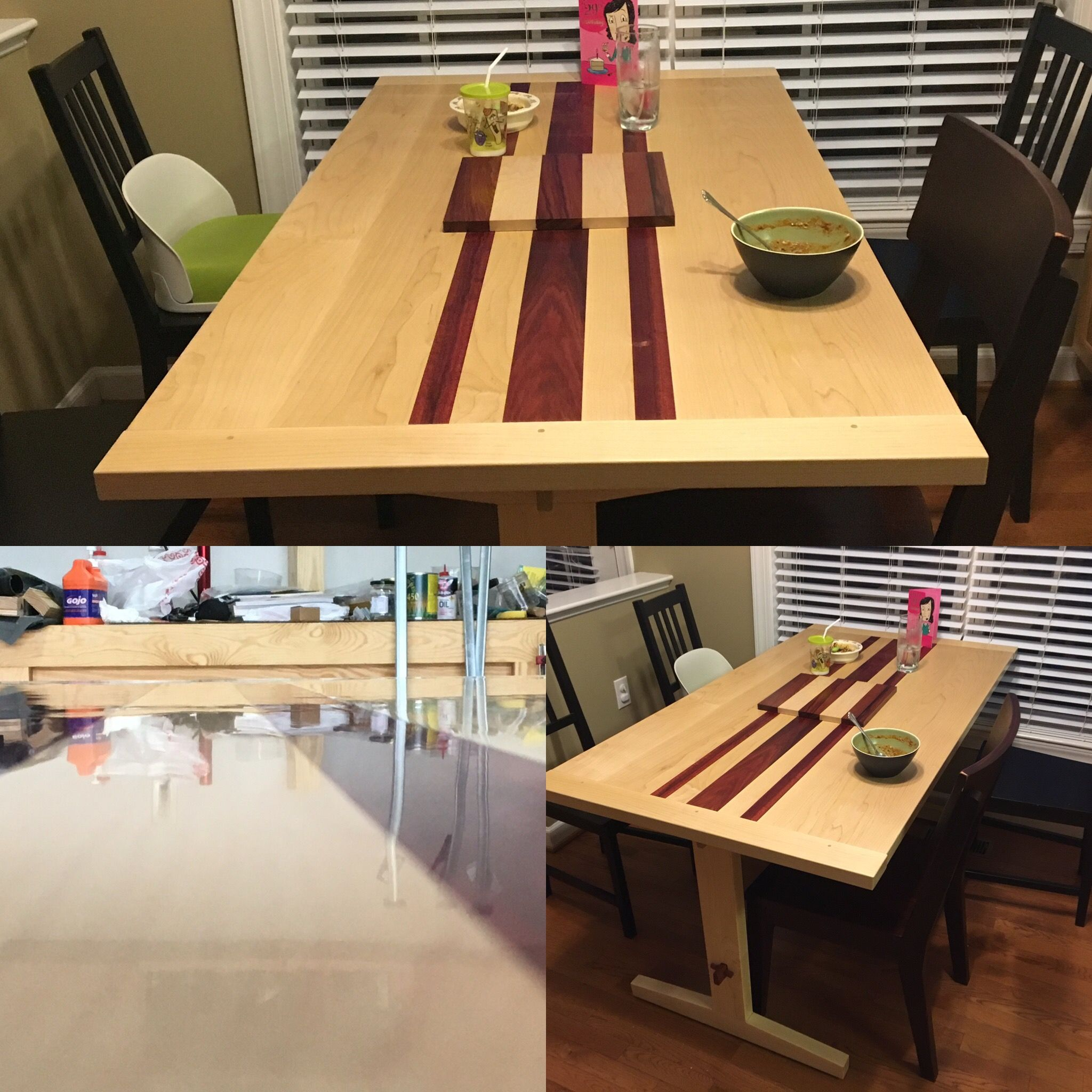 Kitchen Table in 2019 | Woodworking | Kitchen, Dining table
