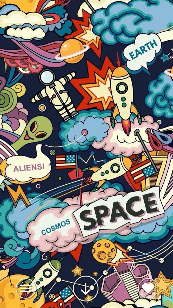 Space Aliens Wallpaper | EPIC Goods