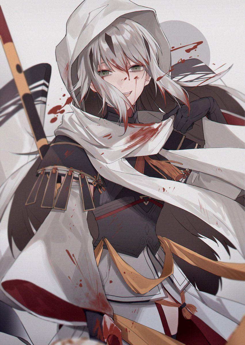 八華のランサー長尾景虎pic Twitter Com Yzm2gext2q Fate Anime Series Character Art Anime